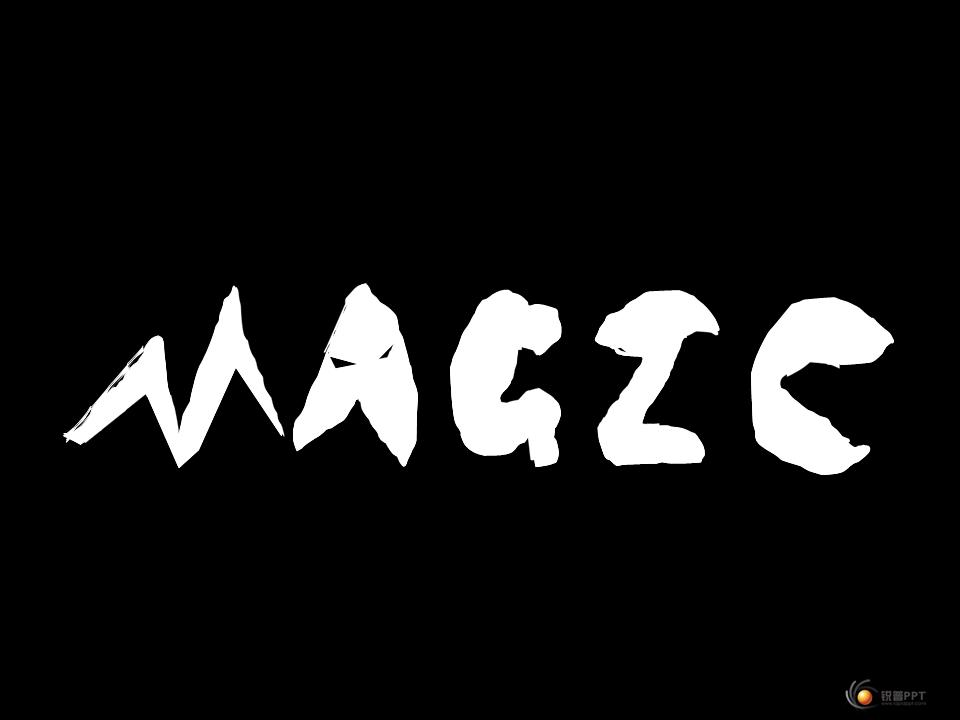 Magic魔术ppt 两个版本 原创PPT作品 Powered by Discuz