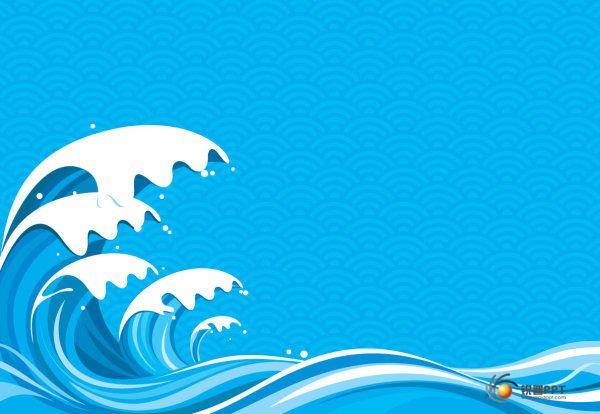 海浪矢量素材(5p) - 图片素材