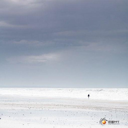 蓝天与海水相溶的图片 小意境 25p