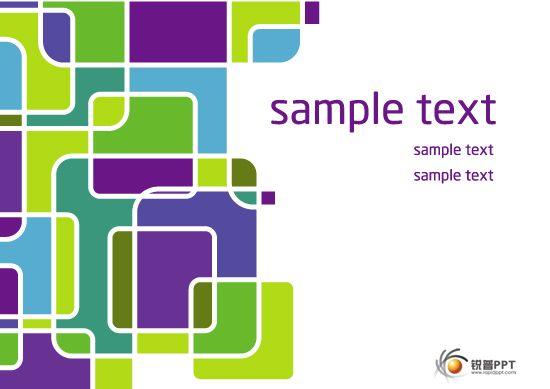 【xxdizf】创意色块拼接图案背景矢量素材eps--5张