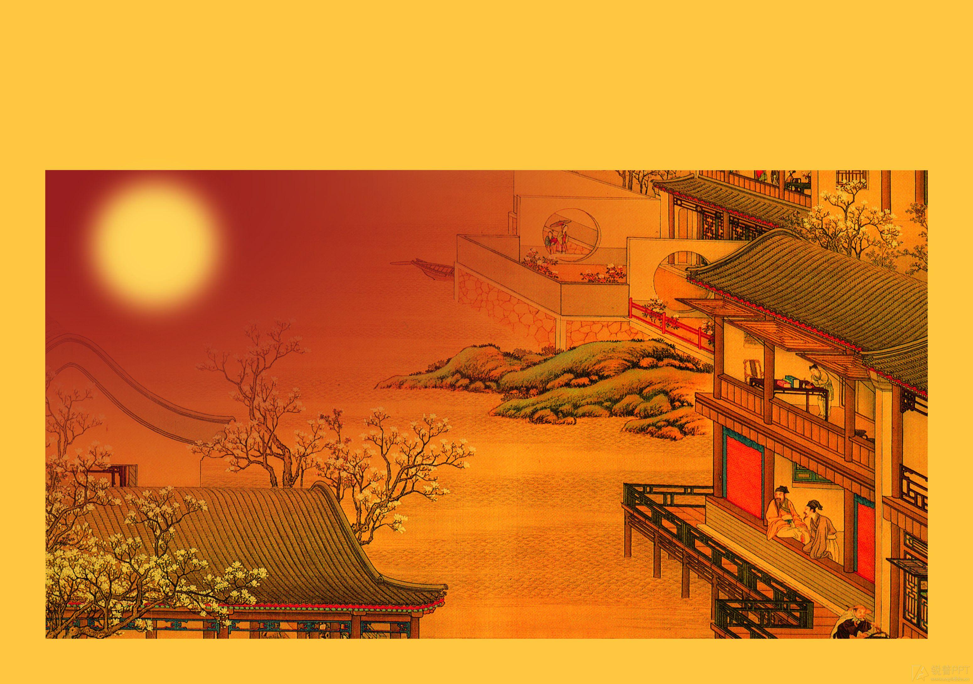 另类中秋背景图片(高清3张) - 图片素材 - 锐普ppt
