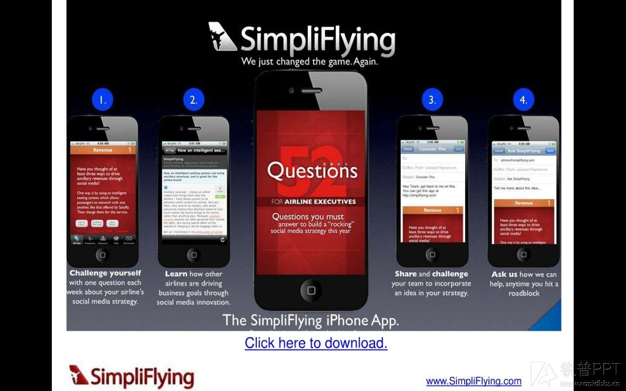 (opens)航空类国外ppt欣赏-simpliflying图片