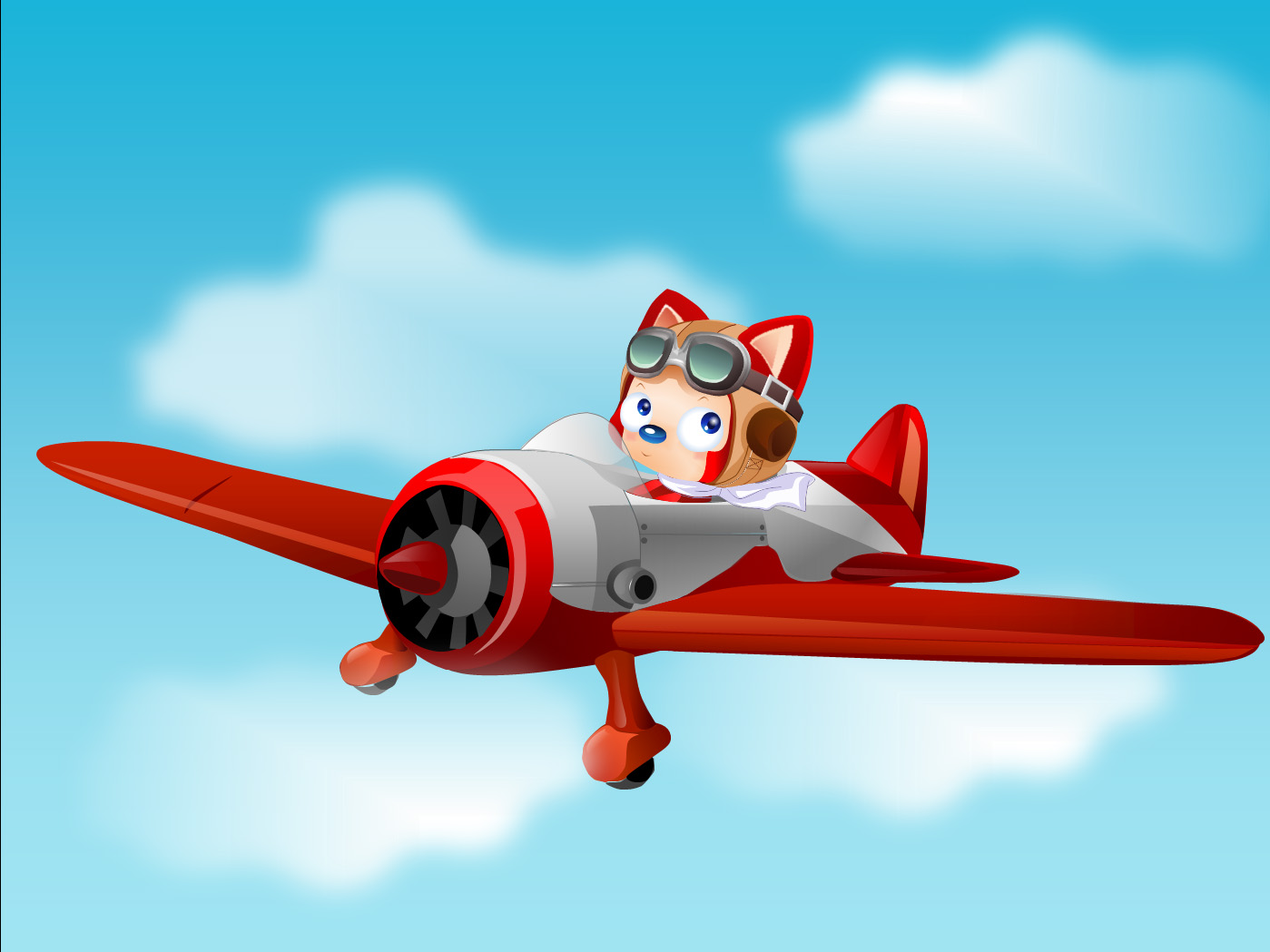 飞机 卡通 漫画 头像