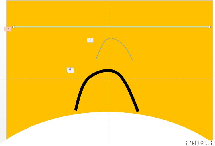 关于天好大师的直线变曲线动画的一个问题 PPT技术问答 Powered by Discuz