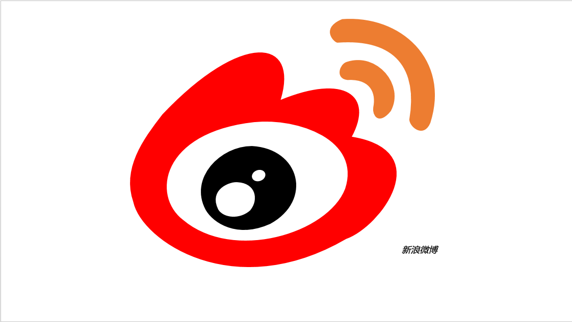 QQ微博矢量图