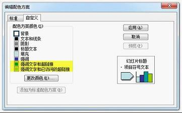 如何修改ppt超级链接的颜色 教程分享 powered by discuz
