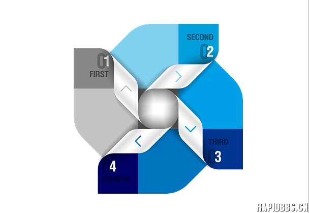 蓝色系ppt关系结构图片素材 - 图片素材 - 锐普ppt